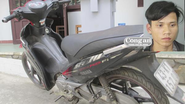 Đà Nẵng: Truy xét nhanh đối tượng trộm xe máy