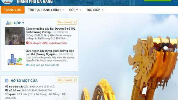 Người dân ở Đà Nẵng có thể nộp phí, lệ phí trực tuyến