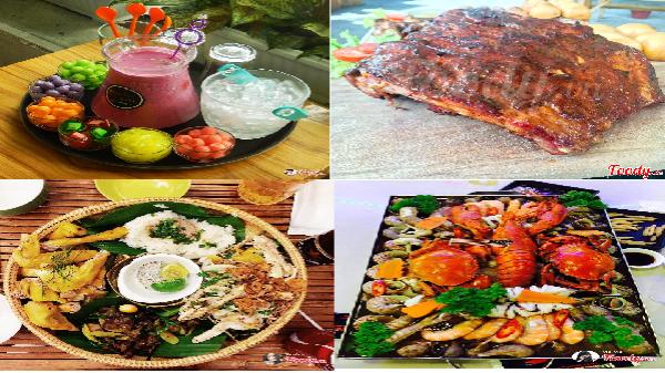 Phát cuồng với những món big size không thể ăn một mình