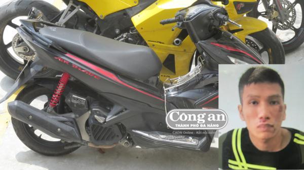 Đà Nẵng: Bắt nam thanh niên vào siêu thị... trộm siêu mô-tô