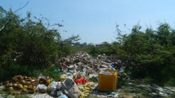 Liên Chiểu – Đà Nẵng: Nạn đổ xà bần, rác thải tràn lan, chính quyền địa phương bất lực?
