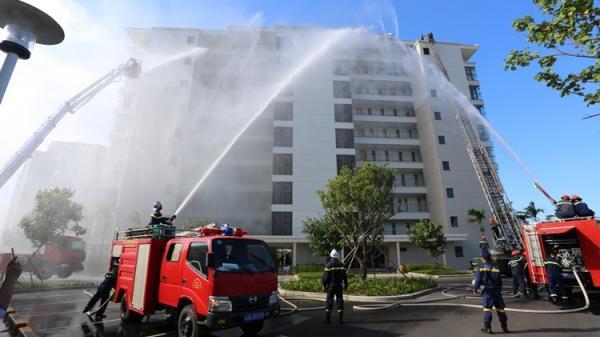 Đà Nẵng: Cháy lớn luôn tiềm ẩn ở các khu chung cư, nhà cao tầng