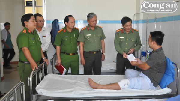 Đà Nẵng: Một chiến sĩ Công an bị thương khi truy bắt nhóm cướp trên núi Sơn Trà