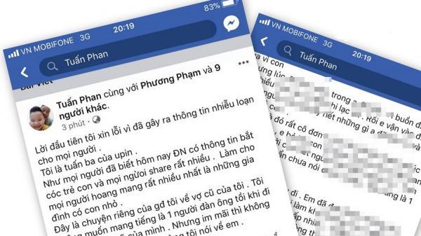 """Thông tin thêm về vụ """"Cha bắt cóc con"""" ở Đà Nẵng: Người cha nhận trách nhiệm"""