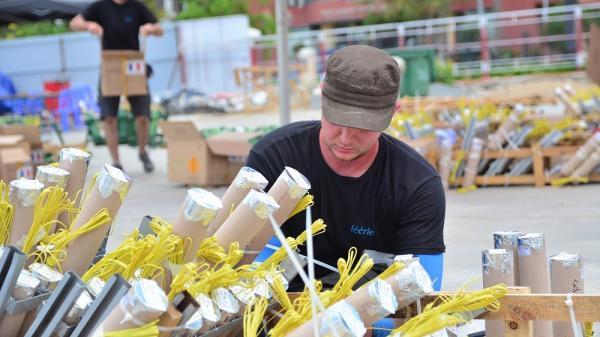 Mỹ sử dụng 6.000 quả pháo tại Lễ hội pháo hoa quốc tế Đà Nẵng