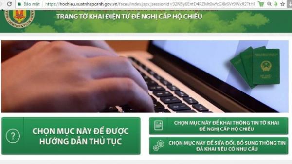 Người dân Đà Nẵng chưa mặn mà đăng ký tờ khai hộ chiếu qua mạng