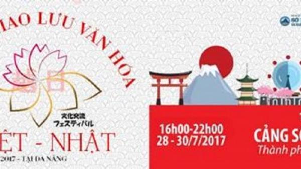 Đà Nẵng tổ chức Lễ hội Giao lưu Văn hóa Việt - Nhật 2017 từ 28 - 30/7