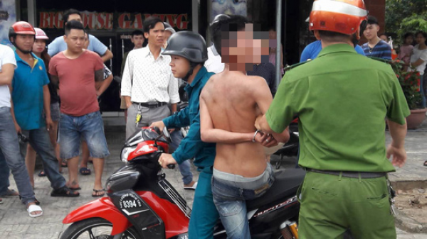 Đà Nẵng: Khống chế nam thanh niên biểu hiện ngáo đá vô cớ tấn công người dân