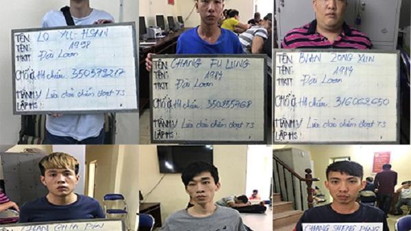 Sáu người nước ngoài đến Việt Nam chiếm đoạt gần 7 tỷ đồng