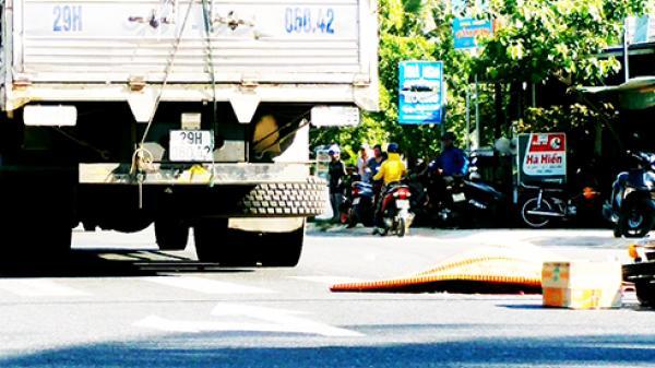 Khánh Hòa: Xe tải tông xe máy, 1 người tử vong tại chỗ, 1 người thương vong