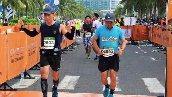 Hơn 5.000 VĐV tham gia chạy marathon tại Đà Nẵng
