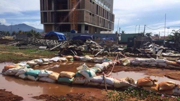 Đà Nẵng: Phạt đơn vị thi công khu Royal Era 1 tái phạm xả thải ra môi trường