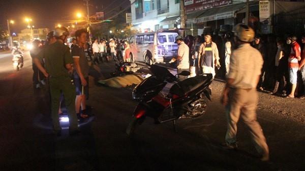 Đà Nẵng: Bị xe tải chở đất cán phải, 1 phụ nữ tử vong
