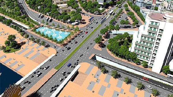 Đà Nẵng đầu tư hơn 380 tỷ đồng cải tạo nút giao thông phía Tây cầu Rồng