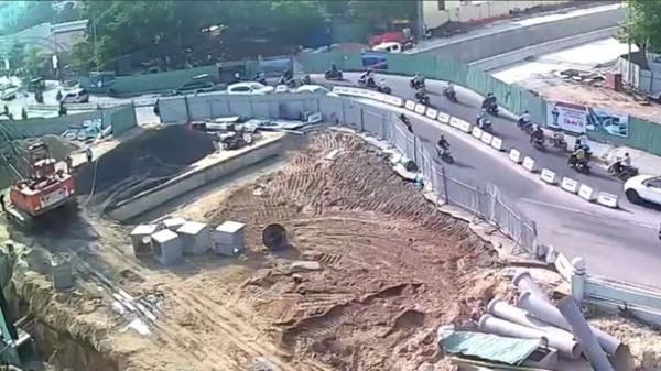 Nỗ lực đưa hầm chui phía Tây cầu sông Hàn về đích trước 30/4