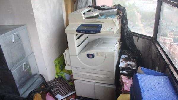 Đà Nẵng: Cháy tại nhà khách, nhiều tài sản bị hư hại