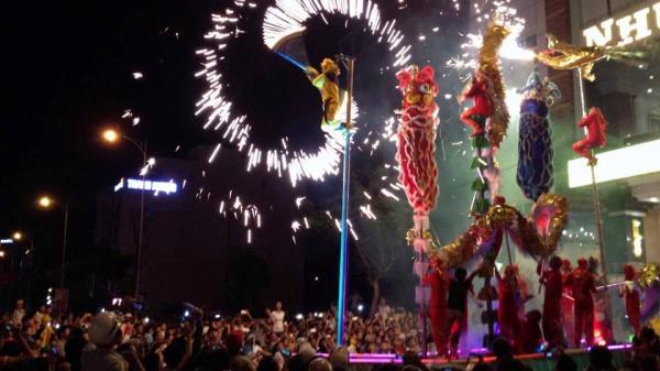 Cập nhật lịch biểu diễn của các đoàn múa lân đêm 15 âm lịch tại Đà Nẵng
