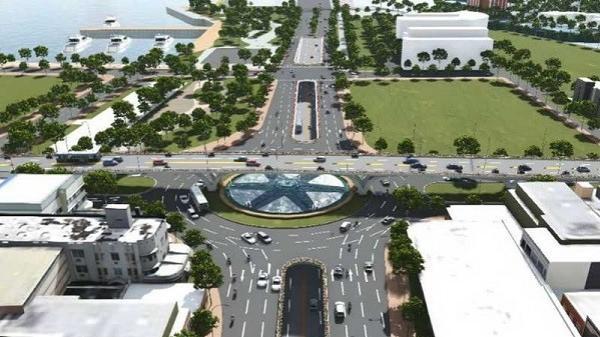Đà Nẵng: Chi 520 tỉ đồng làm nút giao thông ba tầng phía Tây cầu Trần Thị Lý