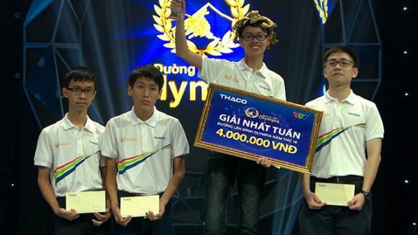 10X Đà Nẵng từng thi 'Chinh phục' giành giải nhất tuần Olympia