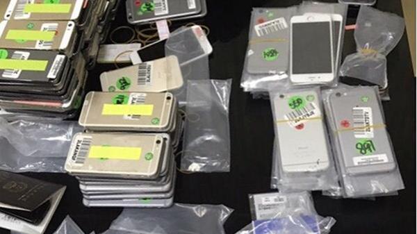Đà Nẵng: Triệt phá đường dây buôn lậu điện thoại di động iPhone trị giá hàng tỷ đồng
