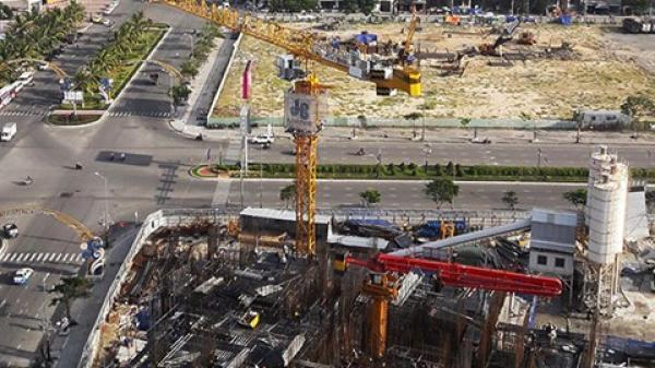 Đà Nẵng: Tháo hạ toàn bộ cần trục tháp xây dựng trước khi diễn ra APEC 2017