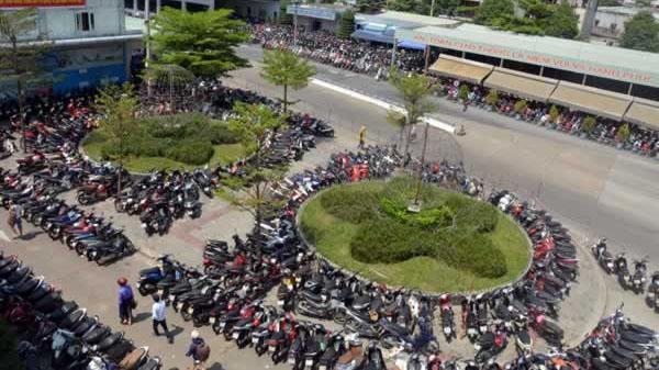 Đà Nẵng có bãi giữ xe máy độc nhất vô nhị cả nước