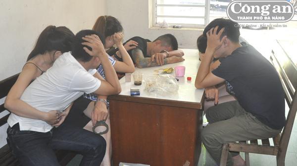 """Đà Nẵng: Bắt nhóm đối tượng """"mở tiệc ma túy"""" mừng... sinh nhật"""