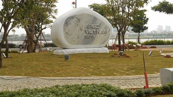 Đà Nẵng: Sắp hoàn tất vườn tượng 21 nền kinh tế tại Công viên APEC 2017