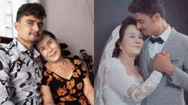 Lộ hình cưới của cô dâu 65 tuổi và chú rể ngoại quốc 24 tuổi