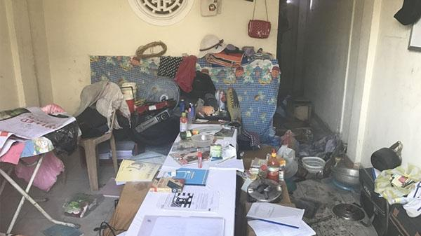 Đà Nẵng:  Sinh viên Đại học Ngoại ngữ phóng hỏa đốt khu nhà tập thể