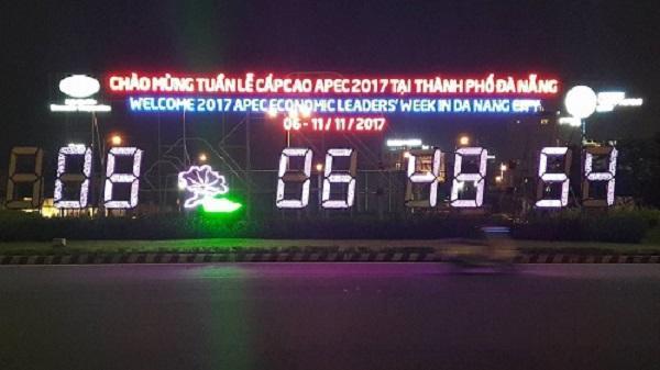TP.Đà Nẵng rực rỡ đèn hoa chuẩn bị cho Tuần lễ Cấp cao APEC 2017