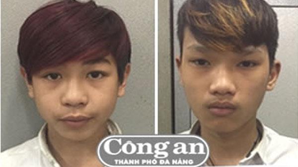 """Đà Nẵng: Nhóm tuổi teen """"manh động"""" trộm xe máy"""