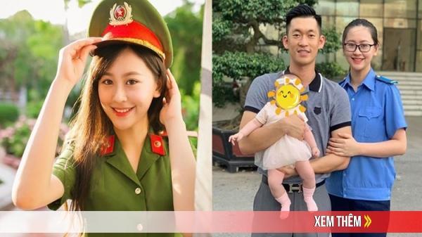 """Hoa khôi trường Cảnh sát vừa sinh con vừa tốt nghiệp với điểm luận tuyệt đối: """"Gia đình khiến mình sống có trách nhiệm hơn"""""""