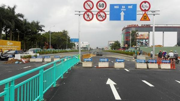 Đà Nẵng: Sáng thông xe đường gom, chiều thông xe hầm chui Điện Biên Phủ