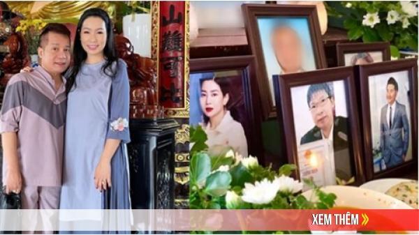 Dàn sao Việt đi chùa cầu siêu cho nghệ sĩ Anh Vũ, Mai Phương