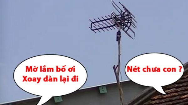 Cộng đồng mạng tiếc nuối khi chia tay truyền hình analog: Sẽ không còn nữa hình ảnh về cây ăng-ten huyền thoại!