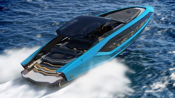 Lamborghini ra mắt siêu du thuyền 4.000 mã lực