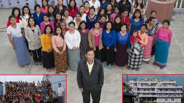 Cụ ông lấy 39 người vợ, nhà xây 100 phòng, lúc sung mãn nhất cưới 10 vợ một năm