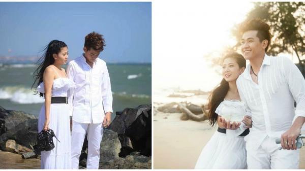 Loạt ảnh tình tứ của Mai Phương - Phùng Ngọc Huy ở biển 7 năm trước