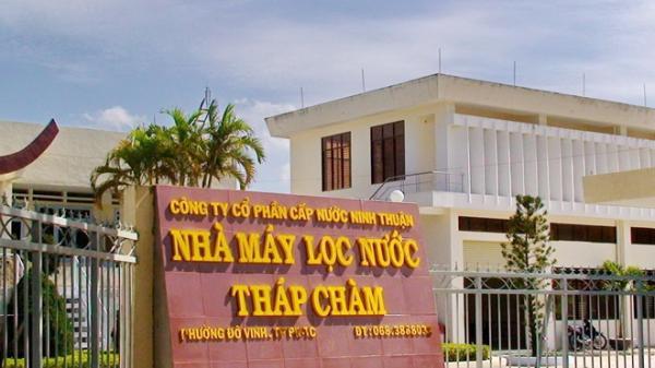 Khởi tố hai đối tượng đưa và nhận hối lộ vụ Công ty CP cấp nước Ninh Thuận