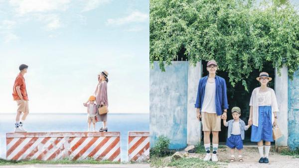 Bình Thuận xanh ngắt trong ảnh du lịch gia đình 3 người