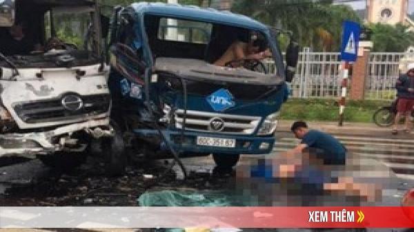 Đồng Nai: Va chạm liên hoàn giữa 3 ô tô, nhiều người bị trọng thương