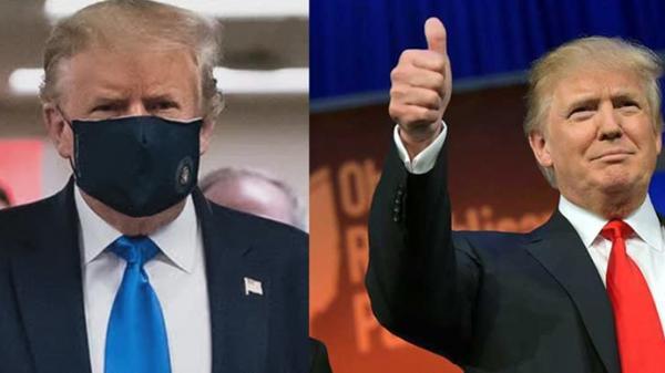 TT Trump nói đeo khẩu trang là yêu nước sau nhiều tháng không đeo