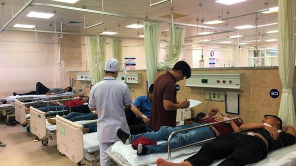 Vụ hơn 100 công nhân nhập viện ở Đồng Nai: Nghi ngộ độc do ăn cá biển chiên