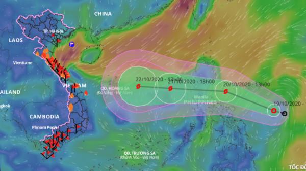 Biển Đông sắp có cơn bão mới hướng vào Trung bộ