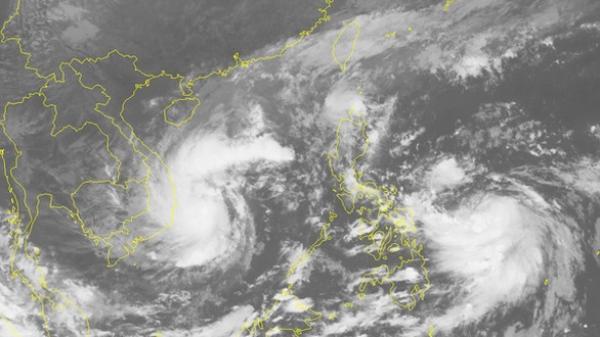Bão số 12 di chuyển nhanh, thêm cơn bão rất mạnh sắp vào Biển Đông