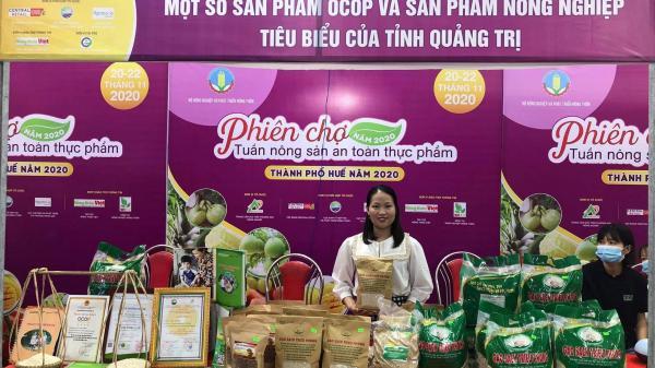"""Gạo sạch Triệu Phong đạt giải Nhì tại phiên chợ """"Tuần nông sản an toàn thực phẩm năm 2020"""""""