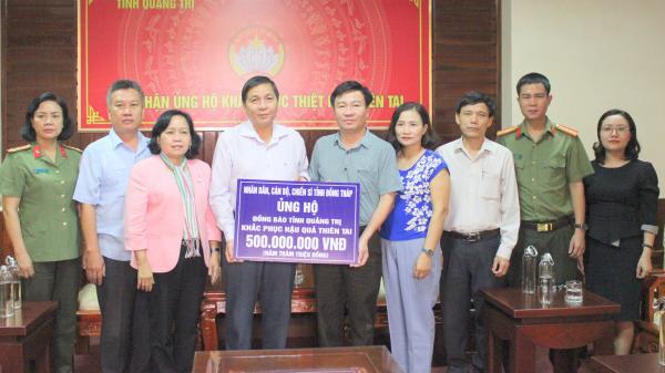 Quảng Trị: Tiếp nhận hơn 1,8 tỉ đồng và quà hỗ trợ người dân vùng lũ lụt