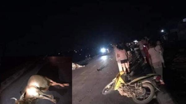 Đâ.m vào bò, người đi xe máy ở Quảng Trị t.ử vo.ng tại chỗ