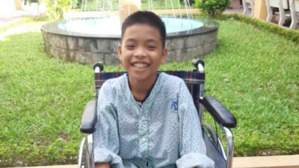 Hoàn cảnh đáng thương của cậu học trò nghèo ở Triệu Phong